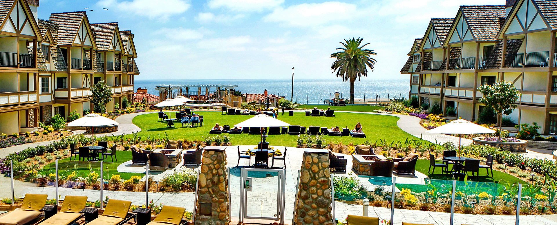 Carlsbad Inn Beach Resort Firepit And Ocean View